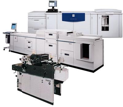 presses numériques et offset