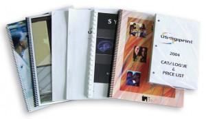 Printer in Montreal, brochures, spiral binding