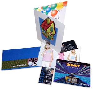 cartes de souhaits, cartes d'affaires et cartes postales