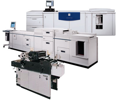 Printing and photocopies in Montreal, digital and offset presses