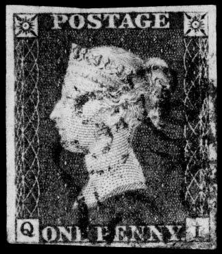 imprimerie timbre black penny