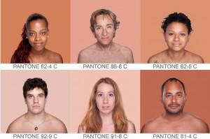 Teinte de peau et couleur pantone. Blog imprimerie Montréal