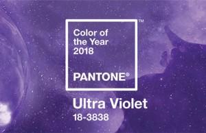 Ultra violet, la couleur Pantone de l'année 2018 en imprimerie
