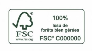 Logo FSC forêts bien gérées